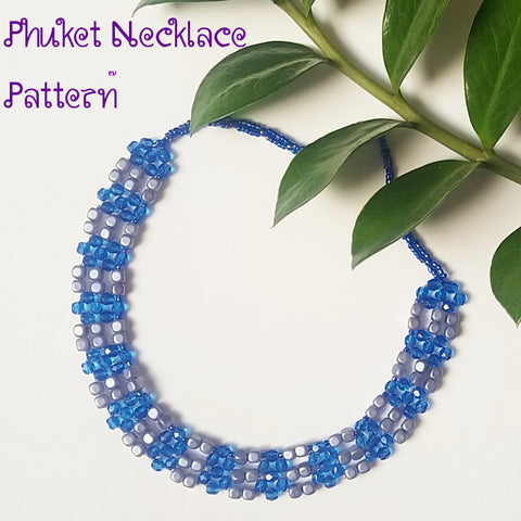 Phuket Necklace Beadwork Tutorial