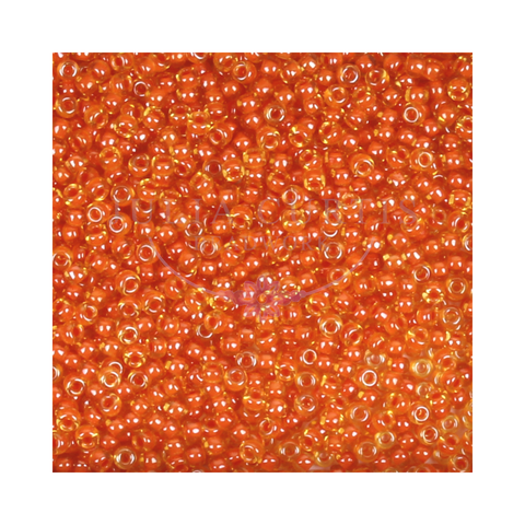 Size 11/0 Burnt Orange Seed Beads 14g