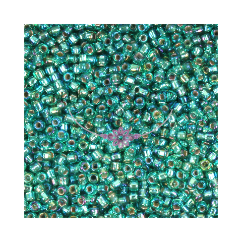 Size 11/0 Duck Egg Green Seed Beads 14g