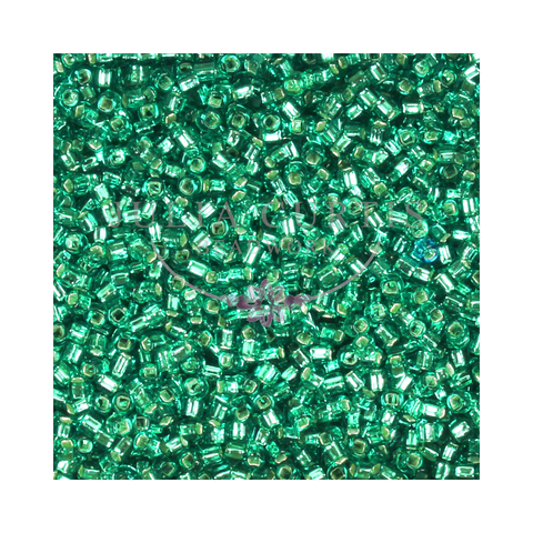 Size 11/0 Sea Green Seed Beads 14g