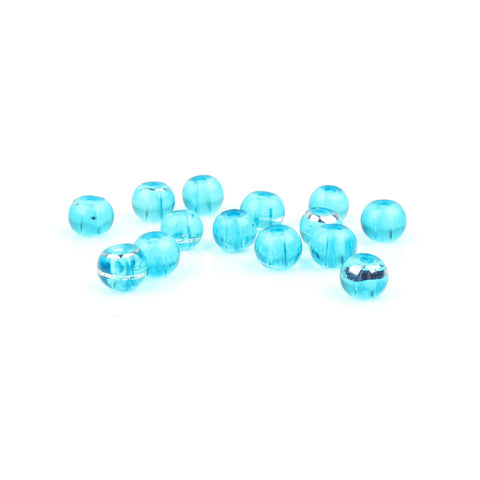 4mm Blue Drawbench Glass Bead