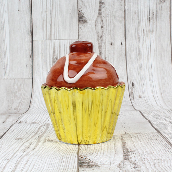 Chocolate Cupcake Trinket Pot