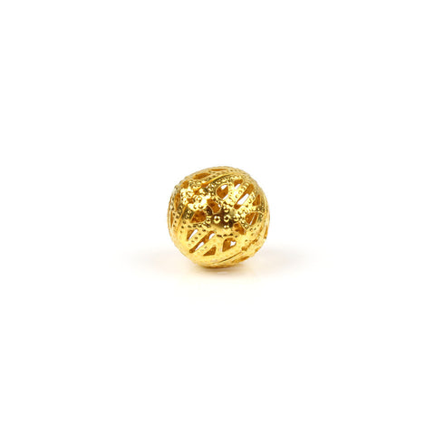 18mm Gold Filigree Ball Bead