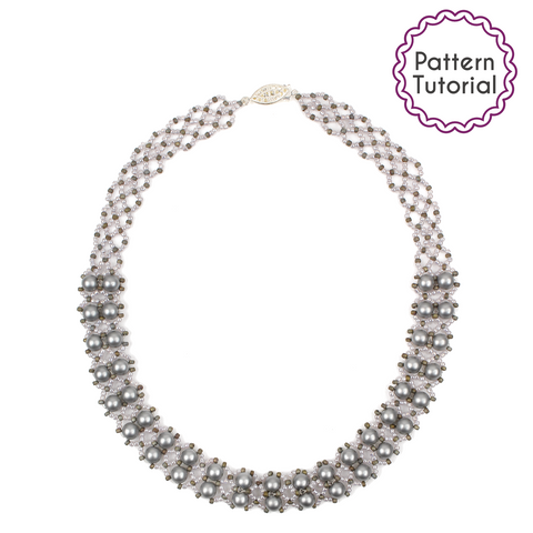 Hong Kong Pearls Necklace Pattern