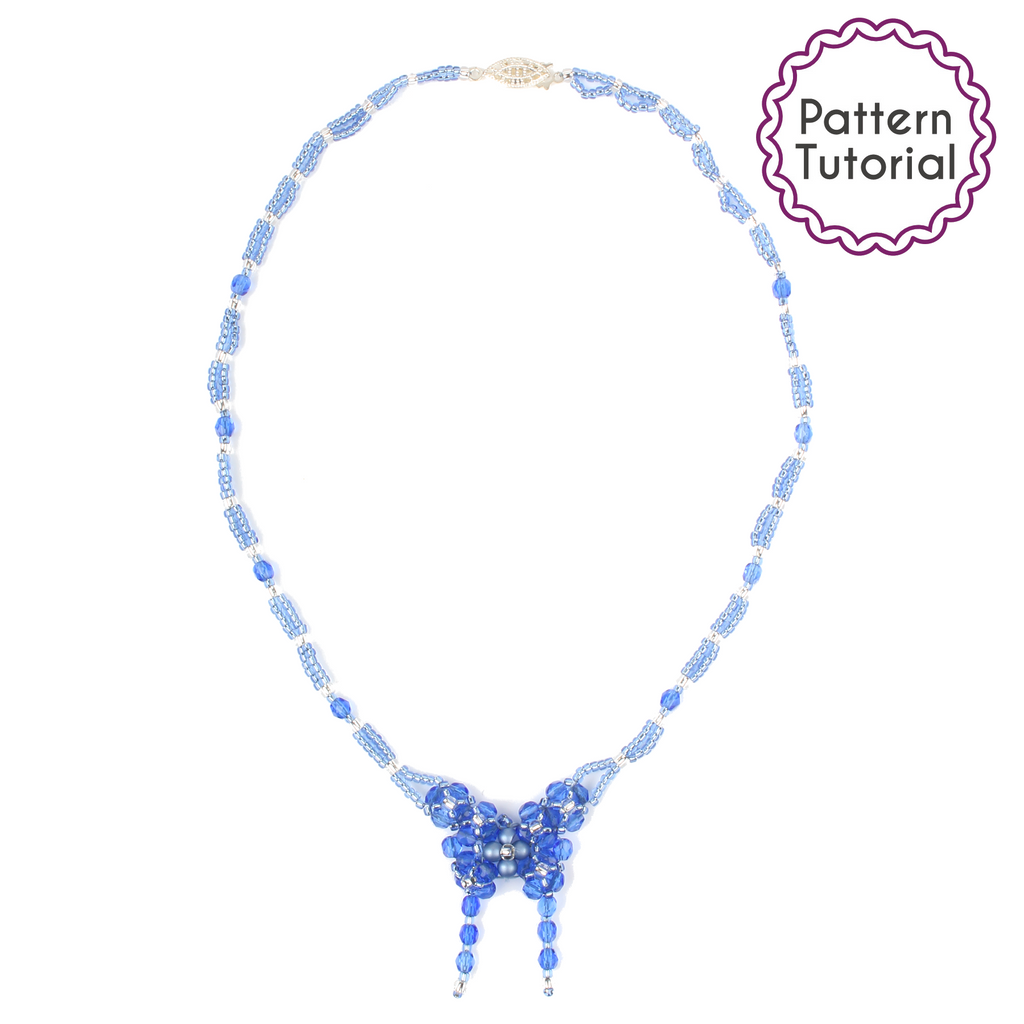 Isola Bella Butterfly Necklace Pattern