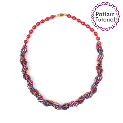Jacob's Ladder Necklace Pattern