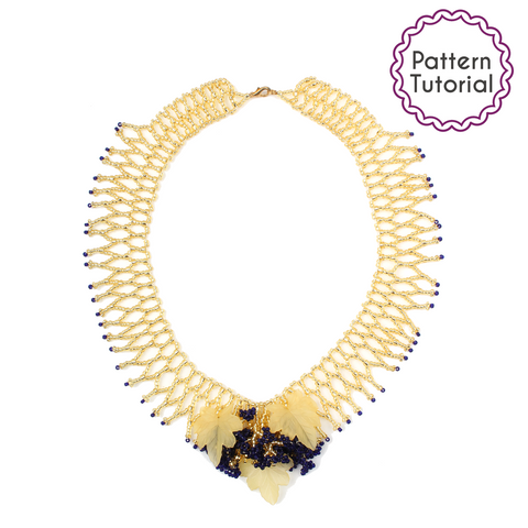 Lisbon Blossom Necklace Pattern