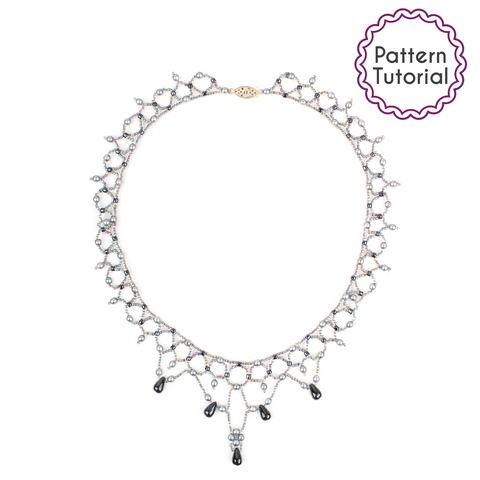 Singapore Pearls Necklace Pattern