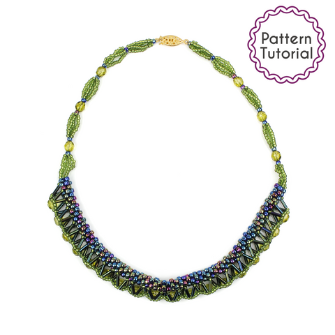 Spanish Steps Necklace Pattern