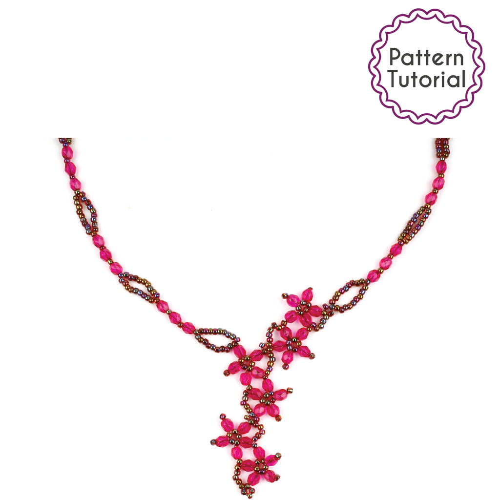 St Kitts Blossom Necklace Pattern