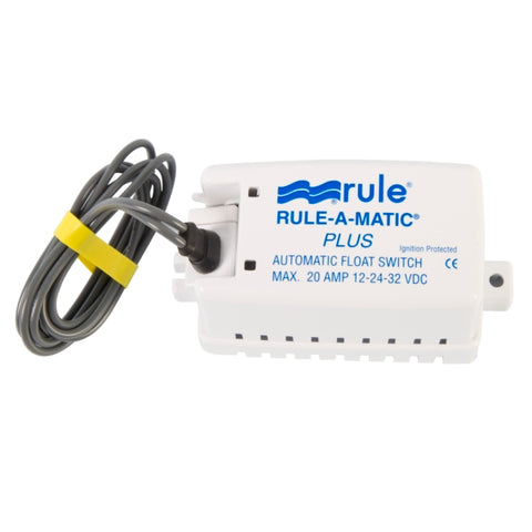 Interrupteur de pompe de cale Rule-A-Matic Plus (sans mercure)