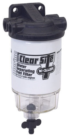 Filtre à carburant séparateur d'eau Clear Site™ SCEPTER