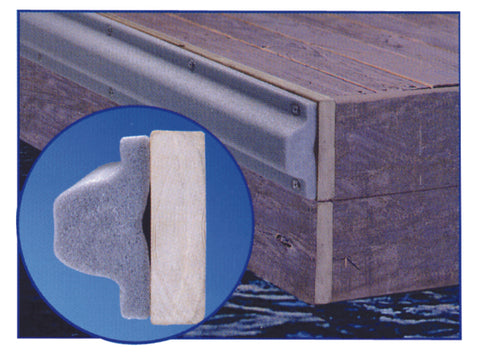 "Butoir de quai ""Boat Shield"" DOCK EDGE  48"" x 5"" x 2 3/4"""