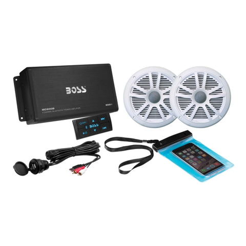 Boss Audio Ensemble Audio Bluetooth Amp Marine 2 500 W