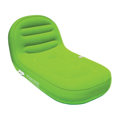 Pneumatique Cool Suede Chaise Lounge lime 1 personne