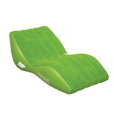 Pneumatique Cool Suede Zero Gravity Lounge Lime 1 personne