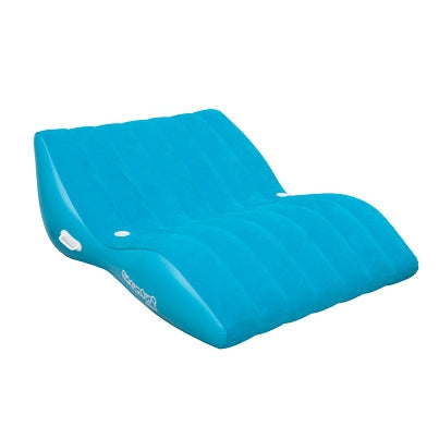 Pneumatique Cool Suede Zero Gravity Lounge bleu 2 personnes