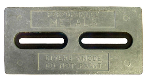 Plaque de coque - L'anode du plongeur PERFORMANCE METAL