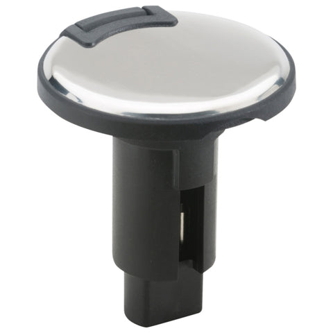 Base de feux de navigation Plug-In RD 2 PIN INOX/NOIR