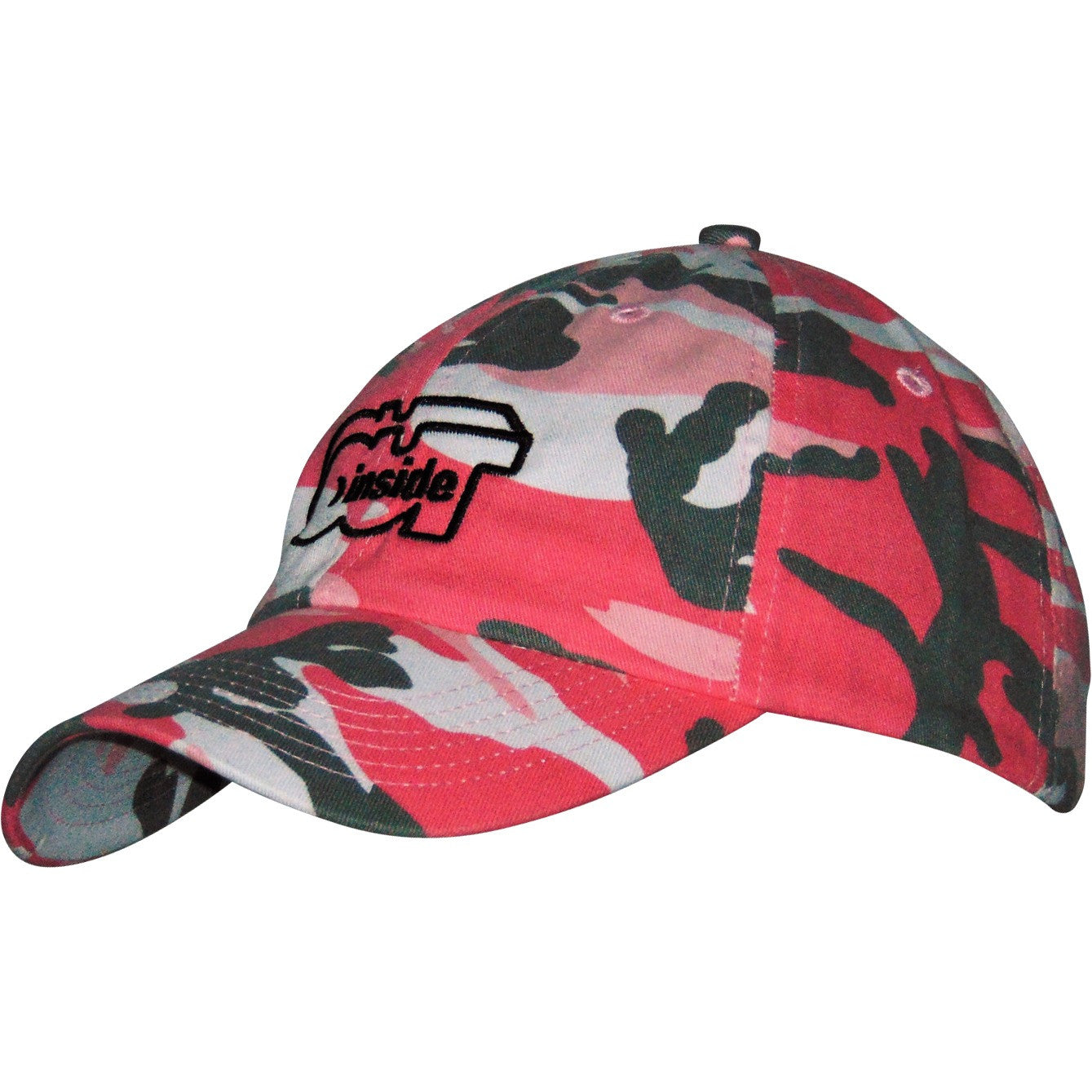 Pink Camouflage Cap - INSIDE OUT