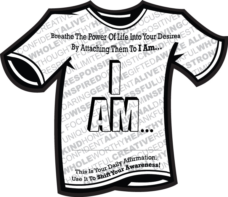 I AM...  Hoodie with Sport Lace (heavyweight) - INSIDE OUT