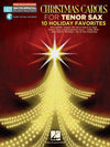 Hal Leonard Christmas Carols for Tenor Sax Play-Along - HL00130366