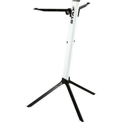 STAY Slim Series 43 Single-Tier Keyboard Stand (White)