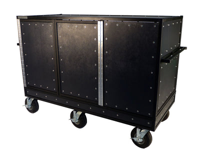 Pageantry Innovations Triple Mixer Cart