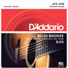 D'Addario 13-56 80/20 Bronze Acoustic Guitar Strings