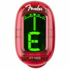 Fender California Red Clip-On Tuner | Palen Music