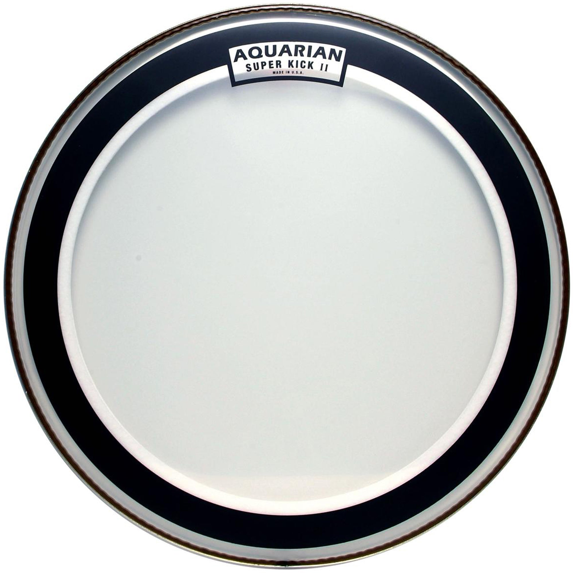 "Aquarian 24"" Super Kick Bass Drum Head with Ring"