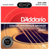 D'Addario 13-56 Coated Phosphor Bronze Acoustic Guitar Strings