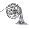 Yamaha YHR-668NDII Double French Horn- Nickel-Silver Plated w/Detachable Bell