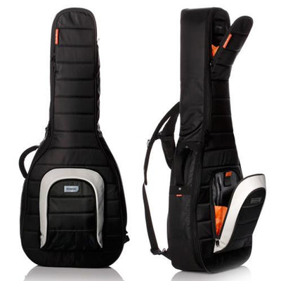 Mono Single Jet Black Dreadnought Guitar Case | Palen Music