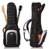Mono Dual Jet Black Electric Guitar Case | Palen Music