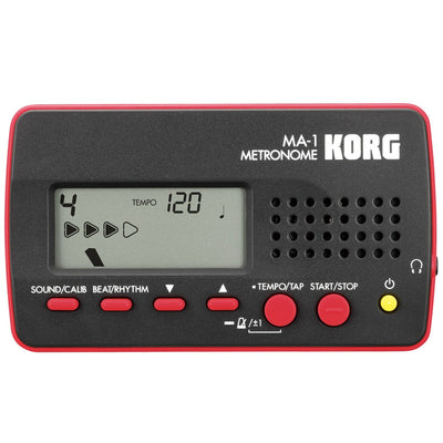 Korg MA-1 Solo Tuner/Metronome Red