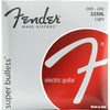 Fender 3250L Nickel Plated Super Bullets Electric Guitar Strings 9-42 | Palen Music