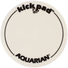 Aquarian Single Kick Pad White