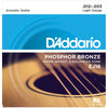 D'Addario 12-53 Phosphor Bronze Acoustic Guitar Strings