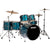 Tama Imperialstar Hairline Blue 6pc Drumset w/Cymbals