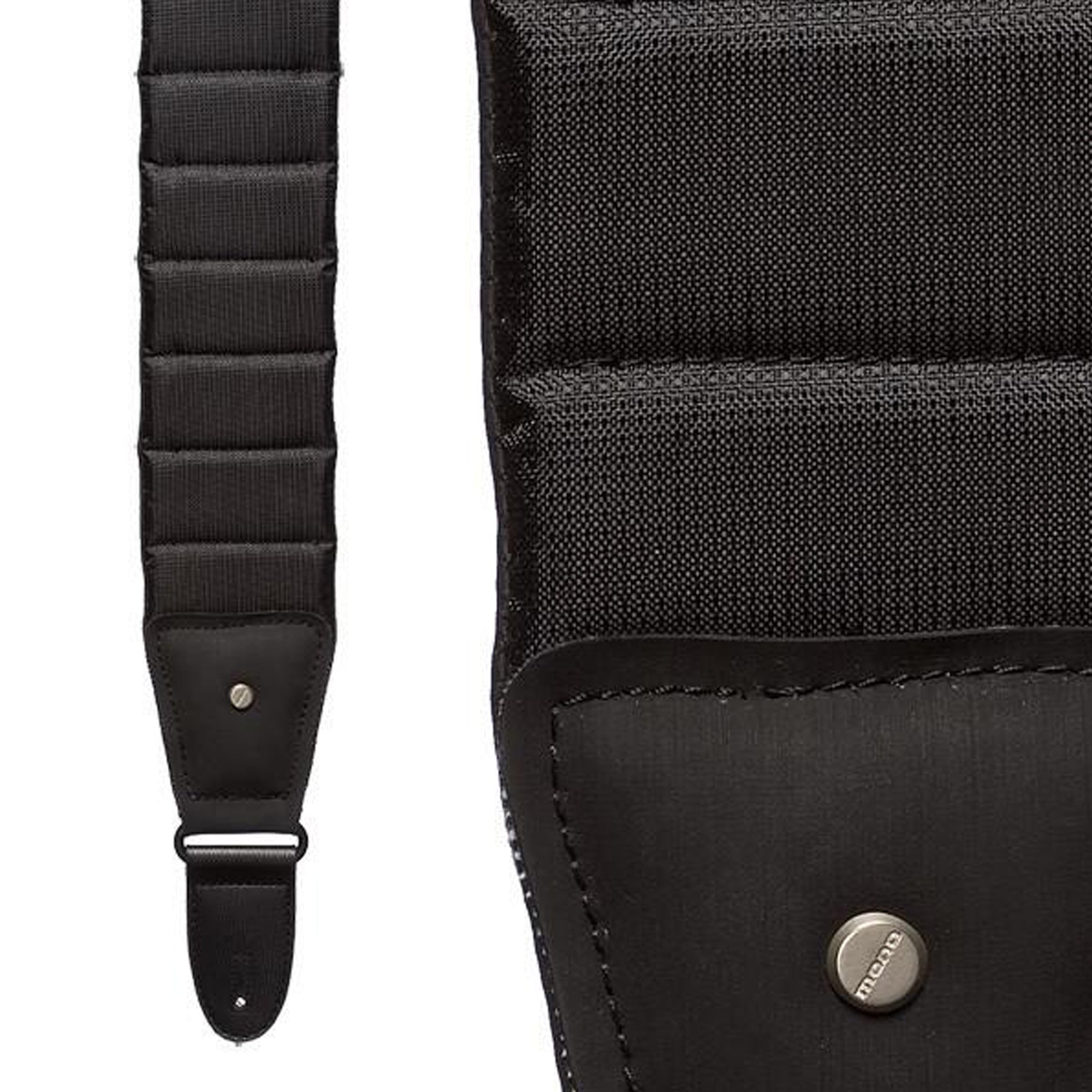 Mono Betty Jet Black Long Strap