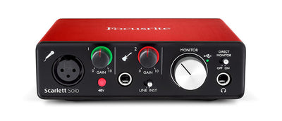 Focusrite Scarlett Solo Interface
