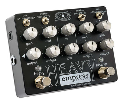 Empress Heavy Dual Channel Overdrive/Distortion