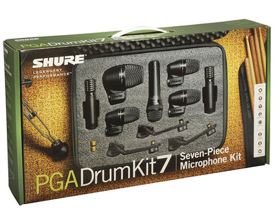 Shure PGA Drum Mic Kit w/ 7 Microphones
