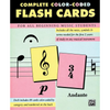 Alfred Color-coded Flash Cards | Palen Music
