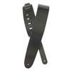 Black Suede Guitar Strap (Black Suede) | Palen Music