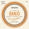 D'addario 5 String Banjo Set - Medium | Palen Music