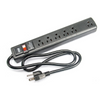 Elite Core Aud 6-Outlet Power Strip w/ Surge Protection