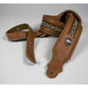 Franklin Straps Southwest Padded Leather Guitar Strap - Caramel