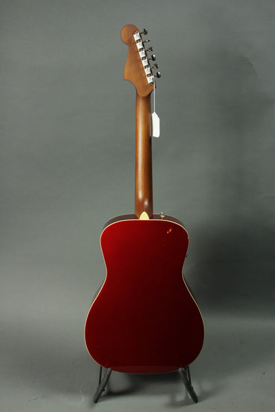 Fender Malibu Player Acoustic Guitar - Candy Apple Red